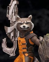 Cheap Guardians of the Galaxy Groot & Rocket Raccoon PVC Action Figure Collectible Model Toy 14CM