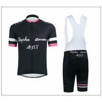 pink jersey - 2015 Rapha condor JLT cycling jerseys black pink short sleeves cycling bike wear size XS XL black white none bib set