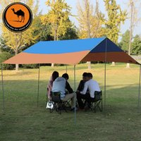 Wholesale Camel outdoor oversized canopy large ground cloth outdoor camping tent sun Picks increase mats