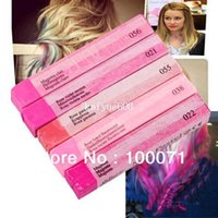 Wholesale 5 Colors Fashion Fast Non toxic Temporary Pastel Hair Extension Dye Color Chalk