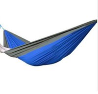 Wholesale Garden relax rope travel Rainbow Outdoor Swing Bed Hammock Leisure Portable Hammock Sleeping Bed