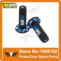 Wholesale MX Dirt Pit bike Cross Pro Taper Handle Blue Grip Grips Alloy Gear Lever Fuel Gas Cap Vent Fit