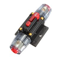Wholesale Best Promotion DC V Car Stereo Audio Circuit Breaker Inline Fuse AMP A