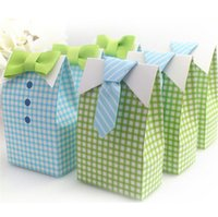 Cheap wedding paper favors boxes Best blue green lovely gifts boxes