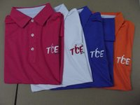 Wholesale T shirts mercerized pique cotton over stock golf short sleeve T shirt in low price with colors