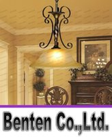 adjustable height pendant - European Iron Pendant Lights Classical Stairwell Lights Adjustable Height Bronze Color Living Dining Room Lights LED E27 lamp LLFA5094F