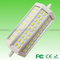 Wholesale Pack of Dimmable SAMSUNG SMD5730 W mm W mm W mm W mm LM Aluminum R7S LED Lighting Replace Halogen Flood Lamp