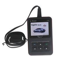 Wholesale 2015 Hot Sale automotive Hot Sale automotive diagnostic for New Arrival Vgate E SCAN V10 Petrol Car and Light Truck Scan Tool free ship