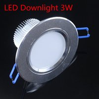 Wholesale High quality led downlight W Hole size mm AC110V V pure white warm white LED Spot light led ceiling lamp