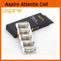 Precio de Bobinas atlantis v2-Original Aspire Atlantis Actualizado Coil Head 0,3 0,5 1.0ohm auténtico Atlantis v2 Mega tanque atomizador reemplazo de bobina 100% Genuine 2210041