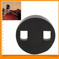 Wholesale Black Round Rubber Acoustic Cello Mute Silencer Cello Parts Accessories