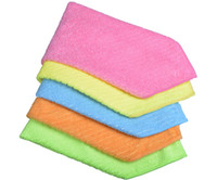 kitchen towels - Sinland Household Multi purpose Microfiber Cleaning Cloths Kitchen Cloth With Strips Kitchen Towels Inchx12Inch Pieces