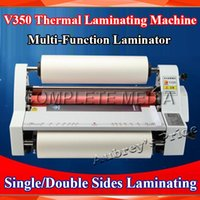 Wholesale A3 quot MM High Speed Thermal Hot Cold Laminating Machine Mounting Roll Laminator Bopp Film