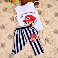 factory direct clothing - Factory direct Children s T Shirtsa simple strips pants clothing sets
