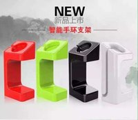 Wholesale new Lazy Bracket E7 Stand holder stand plastic Smart bracelet bracket stents charger intelligent forapple watch charger