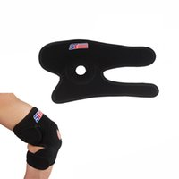 knee support - SX605 Neoprene Breathable Ventilated Sports Golf Elbow Brace Support Elastic Elbow Guard Protector Knee Pads Black