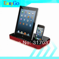 Wholesale iPEGA Multi Functional Charger Dock Station Stand Stereo Speaker For iPhone S iPad Mini Samsung Galaxy S2 S3 Note2