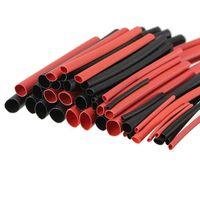 Wholesale 42PCS Sizes Heat Shrink Tubing Tube Sleeving Wrap Wire Kit Black Red Colors H type Shrinkable Tubing