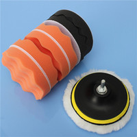 Wholesale Lowest Price inch Buffing Pad Sponge Kit For Polishing Auto Car M14 Drill Adapter