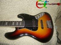 jazz bass - Guitars Newest Vintage Sunburst Strings Jazz Bass High Quality Cheap