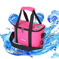 thermo - VEEVAN Lancheira thermo lunch bag cooler insulated lunch bags for women kids thermal bag lunchbox food picinic bag handbag tote