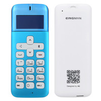 Wholesale Original EINGMAN V3 Wireless Bluetooth Phone Dialer Handset Headset Caller Id Radiation Protection for Pregnant Children