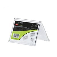 Wholesale Pack units Hot Selling V style Countertop Clear PS Sign Holder Stands Plastic Tag Display Holders YPD