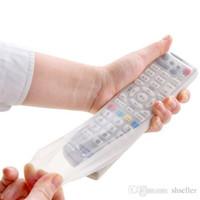 JJ129 Stockage Sacs TV Remote Contrôle de la poussière Cover Holder protection Organizer Item Engrenage Stuff Accessoires Fournitures A5