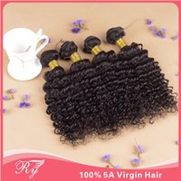 Brazilian Hair Deep Wave No aaaaa cheap 4 bundles brazilian deep wave 4pcs lot 8''-30''inch cheap hair 100grams human hair wigs extensions four color including 1b#