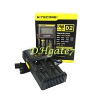 Wholesale 2015 Nitecore D2 Digital battery charger LCD Display Nitecore D2 universal digital charger for batteries