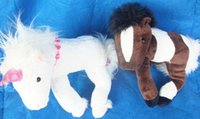 animal farm horses - Kids toys Germany brand plushed animals white horse stuffed toy CM soft handfeel festival gifts