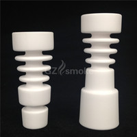 Wholesale 2015 Domeless Female Male Ceramic Nail Universal Fits mm mm Joint