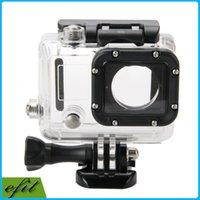 Wholesale Gopro Hero3 Hero4 Hero Waterproof Cameras case Sport Camera bags Gopro Accessories M Underwater Waterproof Housing Case