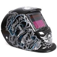 Wholesale Solar Auto Darkening Welding Helmet ARC TIG MIG Weld For Welder Lens Grinding Mask