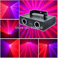 beam laser systems - DMX512 Red and violet laser beam show disco party double lens lazer show system lazer light lazer luz