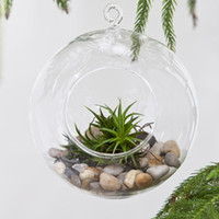 Wholesale 3pcs Hanging Glass Ball Candlestick Air Green Planter For Housewarming Gift Wedding or Home Decor candlestick