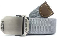 Wholesale 2015 Hot NOS Men Canvas Outdoor Belt Military Equipment Cinturon Western Strap Men s Belts Luxury For Men Tactical Brand Cintos