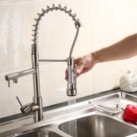 Wholesale Brushed Pull Down Nickel Faucet