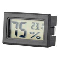 Wholesale New Hot Moisture Meters Built In Sensors Embedded Electronic Digital Hygrometer LCD Display T0722 W0