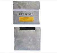 Wholesale 235 mm Multifunction RC Lipo Battery Charge Guard Bag Explosion proof Safe Guard Bag For RC Quacopter Six Axis