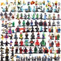Wholesale TMNT The Simpsons Star Wars Super Hero Ninja Turtles Chima Lord Ring SWAT Avengers No Box building blocks