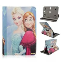 Wholesale Cartoon Movie Universal Degree Rotate Multi Stand PU Leather Cover Case for inch inch inch Tablet PC