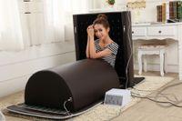 Wholesale lay down portable Germanium stone FIR sauna dome with jade stone heating mat