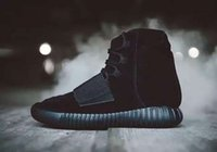 green army men - 2016 New Arrival Kanye West Boost Men Shoes Boots Ankle Boots With Box DHL