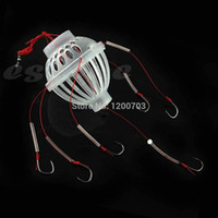 Wholesale C18 Newest Fishing Tackle Sea Fishing Box Hook Monsters with Six Strong Fishing Hooks Hot