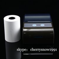 Wholesale portable bluetooth printer thermal mini printer android barcode printer ios bluetooth printer