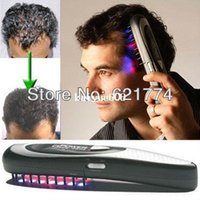 Wholesale New Hot Power Hair Grow Laser Comb Kit Stop Hair Loss Breakthrough Hair Regrow LASER Treatment Hair Loss Gift