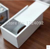Wholesale The Mediterranean style tissue box creativity pumping blue napkin box carton crafts wooden home decorations