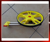 Wholesale Meter vehicle measuring meter wheel counter trolley wheel range finder hand push Measuring Wheel