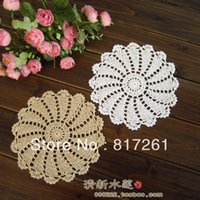 beautiful coffee tables - kitted coffee cup pad plate mat coaster doily flower pad colors pic cm round beautiful design table mat